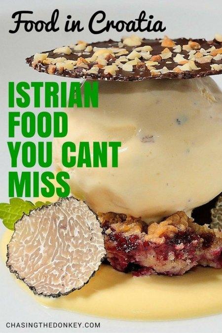 ISTRIAN FOOD IN ISTRIA PIN