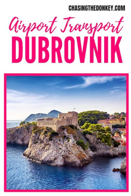 Croatia Travel Blog_Things to do in Dubrovnik_Airport Transport from Dubrovnik Airport to Dubrovnik City Centre