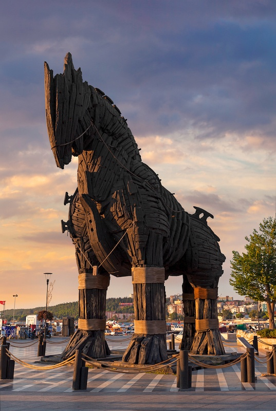 Day Trips From Istanbul - Try Canakkale Troy Horse Turkey