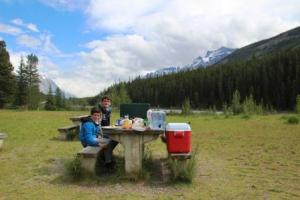 Picnic Icefield parkway