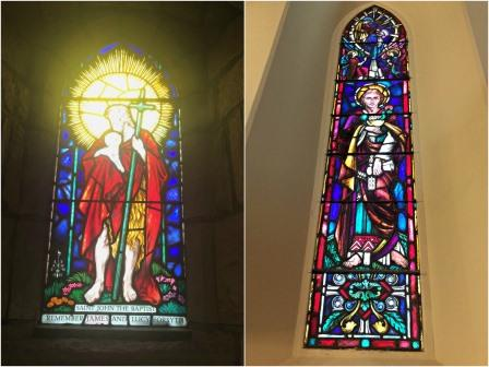 Stained glass windows St Marks Cathedral George South Africa