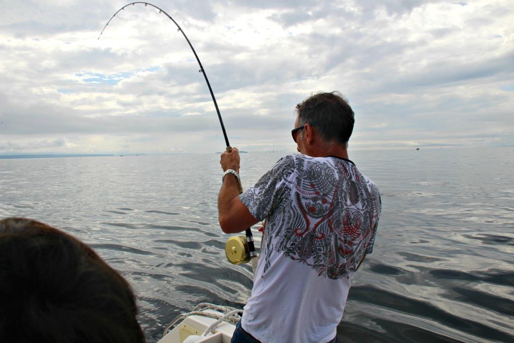 salmon fishing vancouver island sonny boon