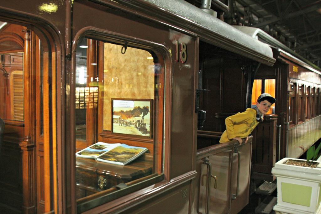 Train at Transnet Outeniqua Transport Museum in George