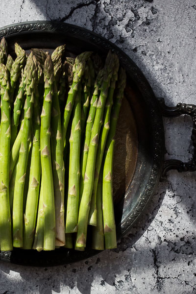 Roasted Asparagus with Prosciutto & Fontina