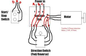 3Phase Wiring Question (StartStop Switch)  The Home Machinist!