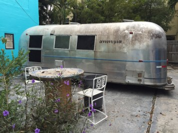 Tap will be served from this Airstream