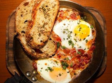 Elad's Shakshuka – Homestead Egg, Yousef Spices, ZTB Bread