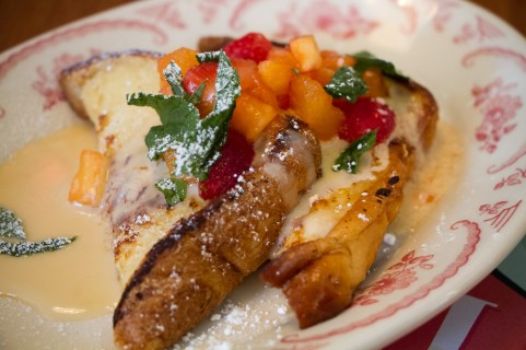 Tres Leche French Toast w/ local fruit salsa