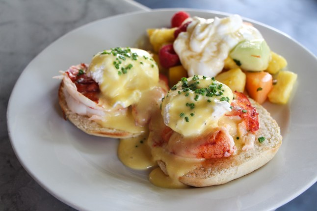 Maine Lobster Benedict