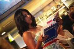 Sara Liss read entertaining stories