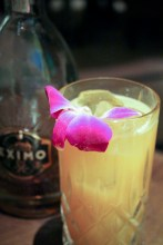 Facundo Eximo Rum, anise infused brandy, crème de menthe, pineapple crème and Cara Cara orange