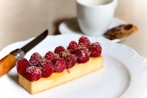 Raspberry & Pistachio Tarte