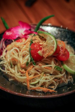 Papaya Salad – Som Tum | dried shrimp, tamarind, thai chili, peanuts