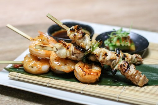 Chicken & Shrimp Robata