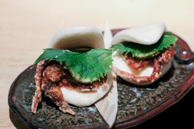 Crab-Filled Buns