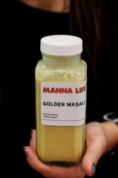 Golden Masala – Brazil nut, turmeric, ginger, cardamom, coconut sugar, pink Himalayan salt, h2o