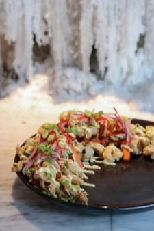 Salt and pepper fried calamari jalea