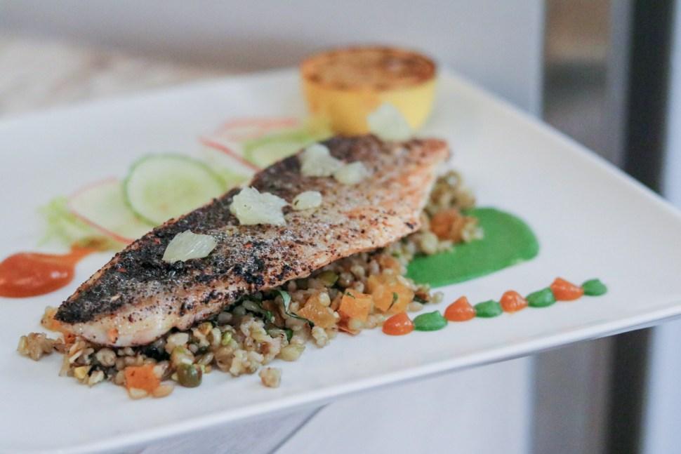 Lebanese Spiced Sea Bass