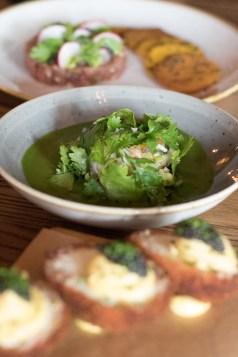 Marinated Shrimp w/ Roasted Jalapeño Jus