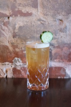 C.L. Pimm's Cup w/ Lemon & Watermelon