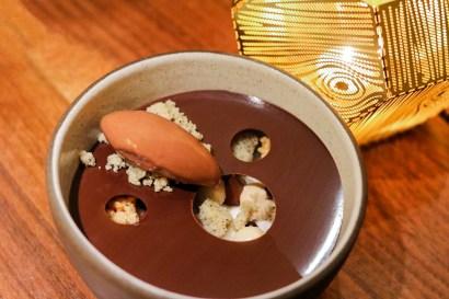 Champorado - Chocolate, Pandan Rice Pudding