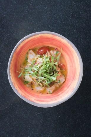 Ceviche Veracruzano w/ Florida snapper, tomato, capers, cerignola olives, lime, jalapeño, cilantro