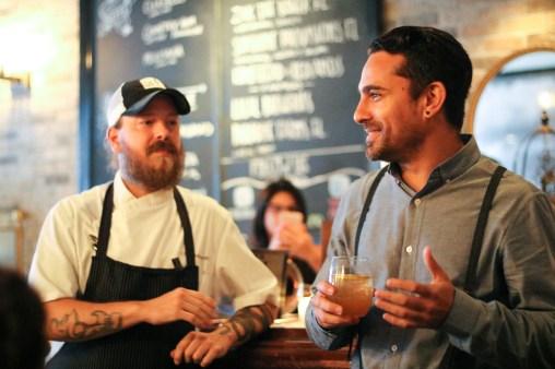 Chef Phillip Bryant & Gio Gutierrez