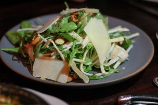 Fennel & Celery Root w/ mint, arugula, almonds, pecorino