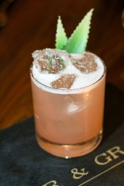 Re-Pete w/ Avua Amburana-Aged Cachaca, Campari, Pineapple, Cinnamon