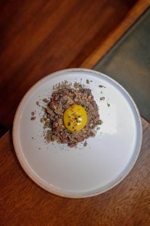 Bigeye Tuna Tartare w/ Puffed Wild Rice