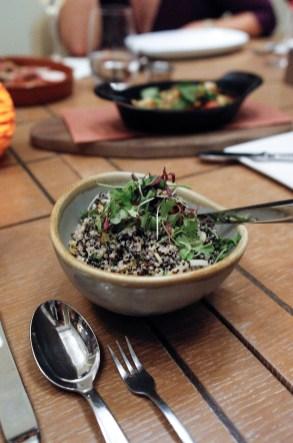 Quinoa And Fire Roasted Corn Salad W/ Meyer Lemon Dressing