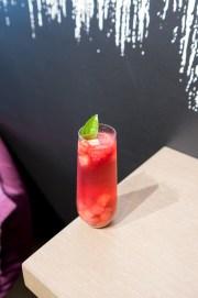 Sake-Rose Sangria