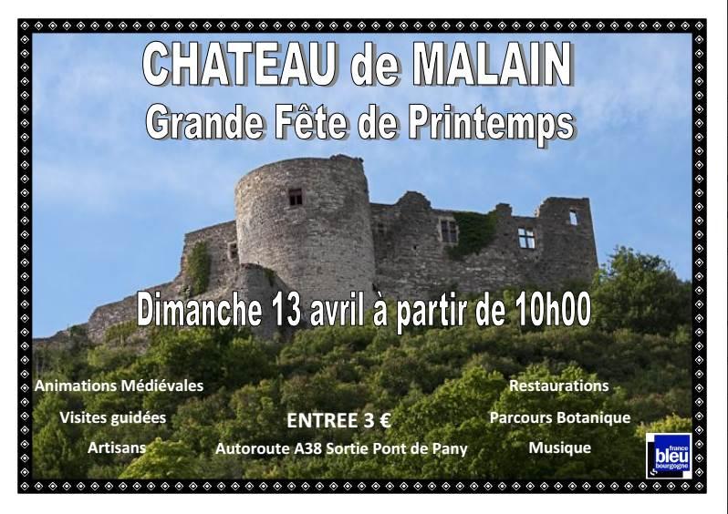 Fête de printemps au château le dimanche 13 avril 2014