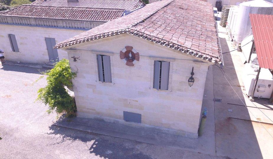 chateau sainte-marie targon propriété