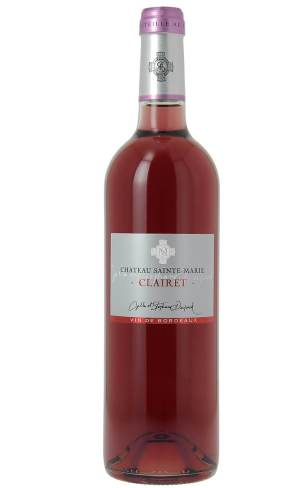 Achat vin bordeaux Clairet, chateau sainte-marie