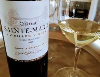 Château sainte-marie entre-deux-mers vieilles vignes david boulet sommelierparpureplaisir achat vin en ligne