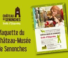 Plaquette du Château-Musée de Senonches