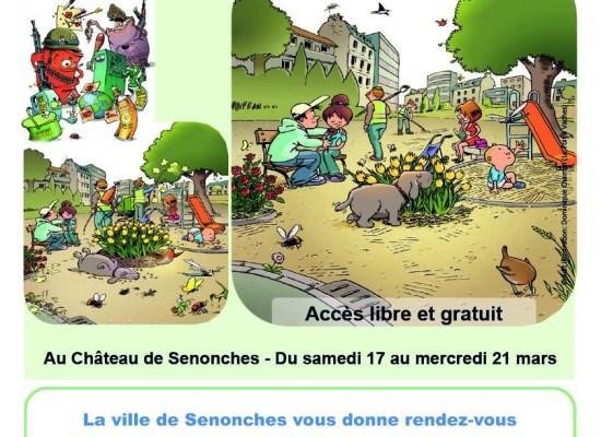 """Exposition """"Objectif zéro pesticide"""" du 17 au 21 mars et signature de la charte"""