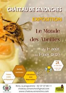 exposition monde des abeilles chateau senonches