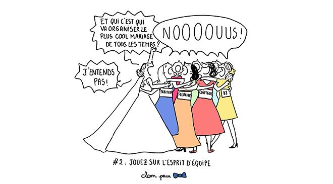 organisation mariage illustration