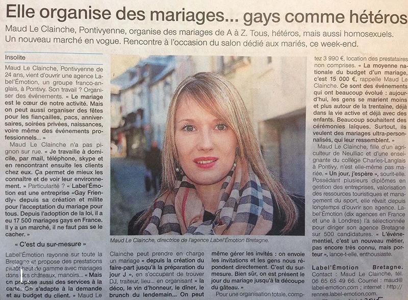 organisation mariage rennes