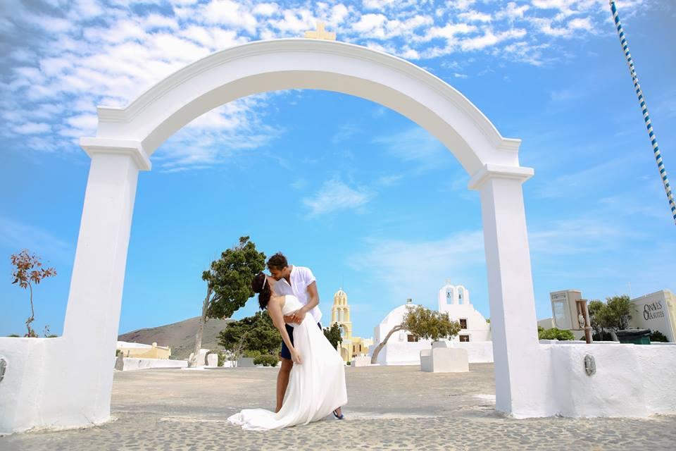 organisation mariage santorin
