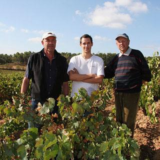 3 generations famille Bousquet Corbières