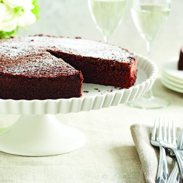 Nigella Lawson's chocolate olive oil cake