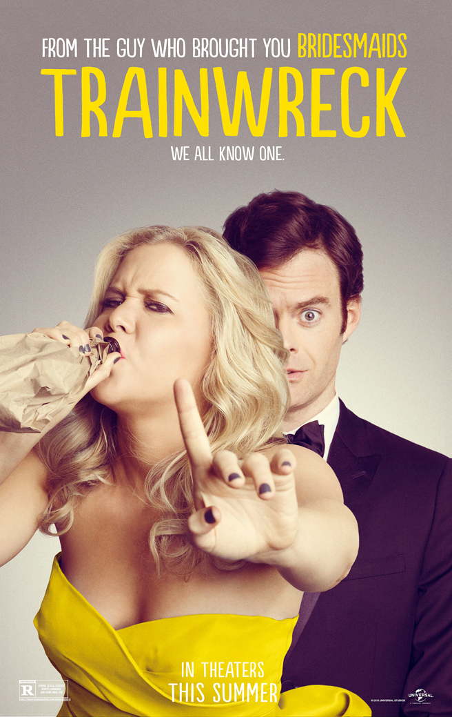 Image result for trainwreck poster