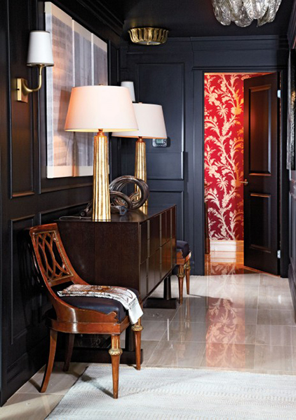15 Hallway Decorating Ideas To Make Coming Home A Treat   Chatelaine Don t be afraid to go bold