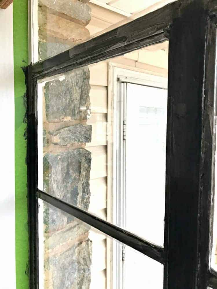 Painted Black Window Frames Chatfield Court