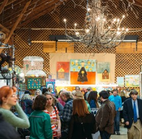 2015-0120 CAC_Go See This_Blog Post_Fearrington Folk Art Show_Photo_Barn Interior