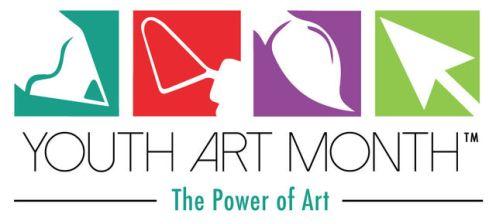 Youth Art Month Logo