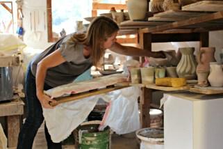 Preparing for kiln opening